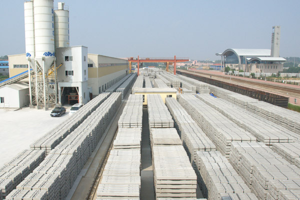 concrete sleeper plant